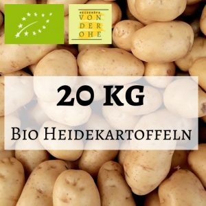 Bild für 20kg Bio Kartoffeln
