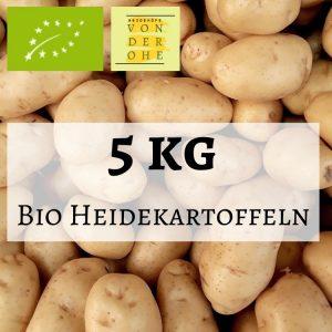 5kg Bio Kartoffeln