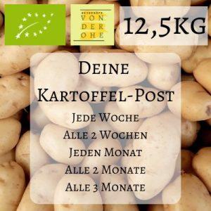 Logo für 12,5kg Kartoffeln im Abo